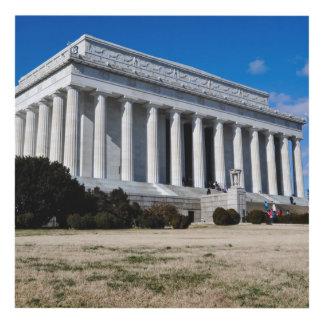Cuadro El Lincoln memorial en Washington DC