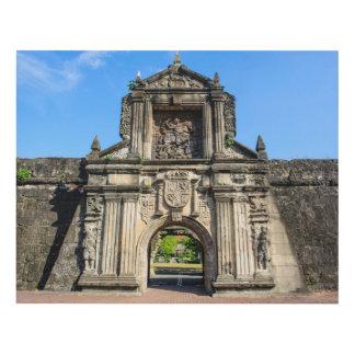 Cuadro Entrada de Santiago del fuerte