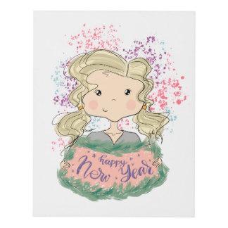 Cuadro Feliz Año Nuevo