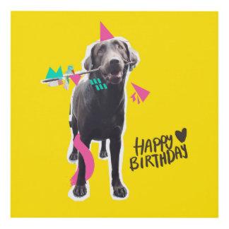 Cuadro ¡Feliz cumpleaños del BB!
