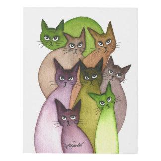Cuadro Gatos caprichosos de Líbano