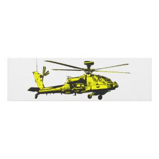 Cuadro Helicóptero de Apache