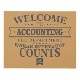 Cuadro ¡La contabilidad es donde todos cuenta!