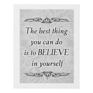Cuadro La mejor cosa - Quote´s positivo