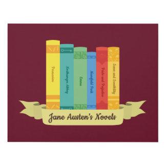 Cuadro Las novelas de Jane Austen III