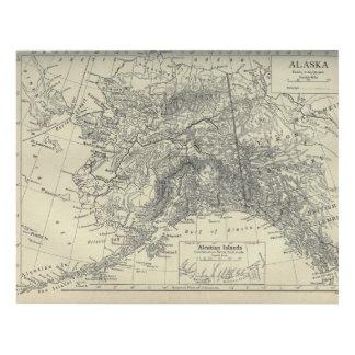 Cuadro Mapa de Alaska