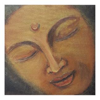 Cuadro Meditación en oro