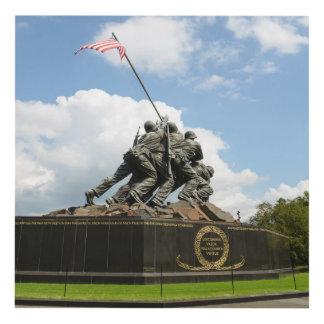 Cuadro Monumento de Iwo Jima en Washington DC
