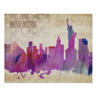 Cuadro New York City, horizonte de la ciudad de la