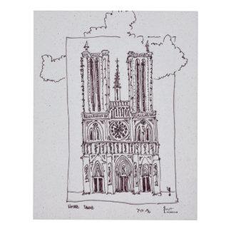 Cuadro Notre-Dame de Paris el | Ille de la Cite de la