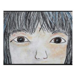 Cuadro Ojos del amor