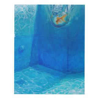 Cuadro Pintura de la piscina