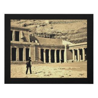Cuadro Templo de la reina Hatshepsut