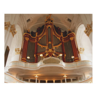 Cuadro Tubos de órgano de la iglesia