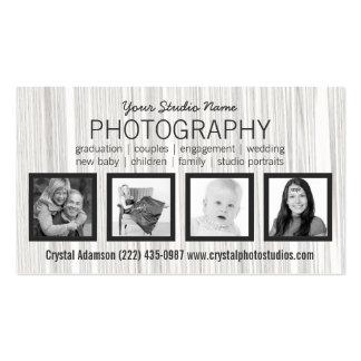 Cuaesquiera fotos de la profesión cuatro tarjetas de negocios
