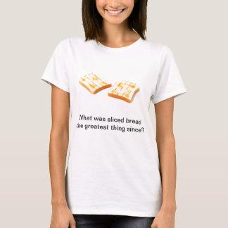 ¿Cuál era el pan cortado la cosa más grande desde Camiseta