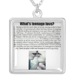¿Cuál es amor adolescente? Grímpola
