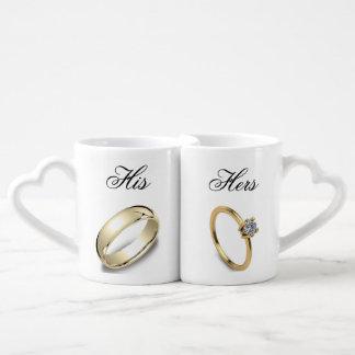 Cuál es el suyo es el suyo set de tazas de café