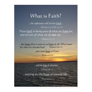 Cuál es Faith.png Postal