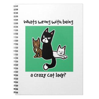 Cuál es incorrecto con ser una señora loca del gat libro de apuntes