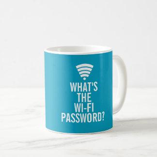 Cuál es la taza de café de la contraseña de Wi-Fi