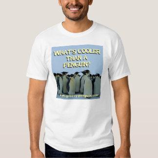 """""""Cuál es más fresco que un pingüino?"""" Camisa"""