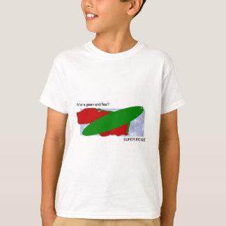 ¿Cuál es verde y vuela? ¡Salmuera estupenda! Camiseta