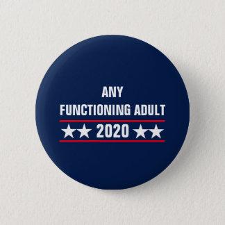 Cualquie botón de funcionamiento del adulto 2020