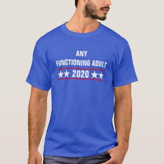 Cualquie camiseta de funcionamiento 2020 del