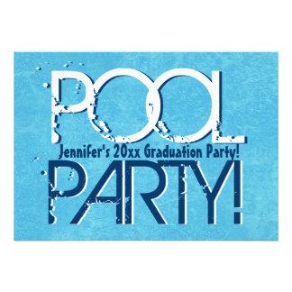 Cualquie clase del año de la fiesta en la piscina  comunicado personal