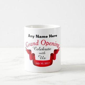 Cualquie gran inauguración conocida - taza de café