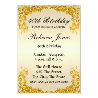 Cualquie invitación del cumpleaños