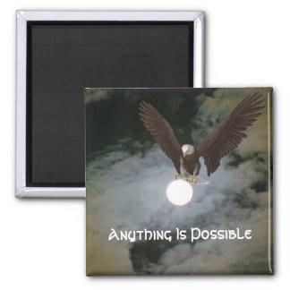 Cualquier cosa es imán inspirado posible de Eagle