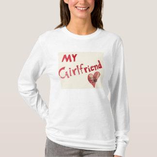 Cualquier persona pero yo mi novia - camiseta