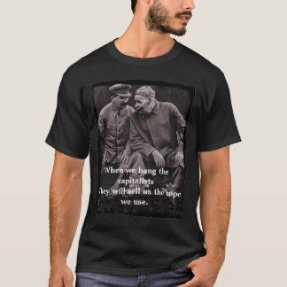 """""""Cuando colgamos camiseta de los capitalistas"""""""