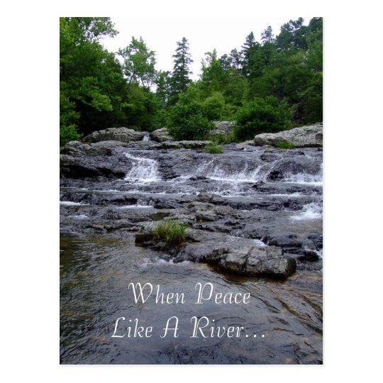 Cuando la paz tiene gusto de un río… postal
