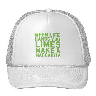 Cuando la vida le da las cales hacen a una gorra