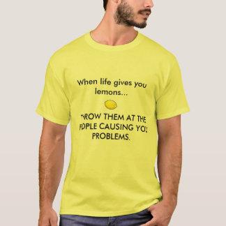 CUANDO LA VIDA LE DA LOS LIMONES, camisa del limón