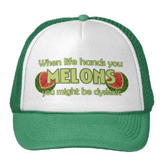 Cuando la vida le da los melones gorra