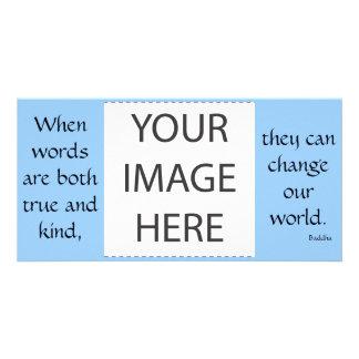 Cuando las palabras son ambas verdad… la tarjeta d tarjeta personal