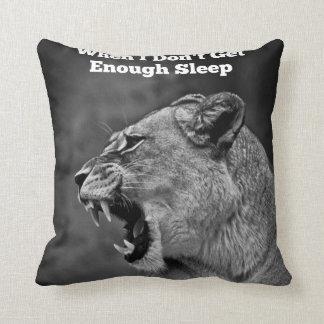 Cuando no consigo bastante almohada del sueño