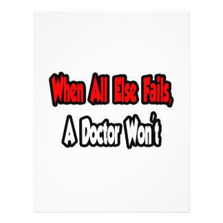 Cuando todo falla, un doctor no tarjetón