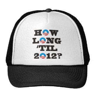 ¿Cuánto tiempo 'hasta 2012? Gorros Bordados