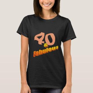 Cuarenta y fabuloso camiseta