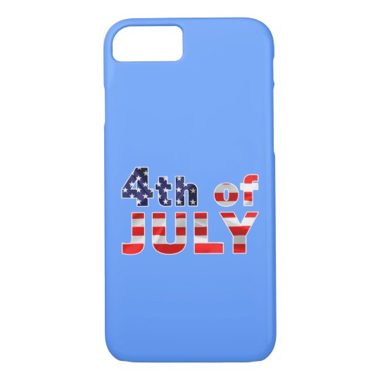 Cuarto de julio funda iPhone 7