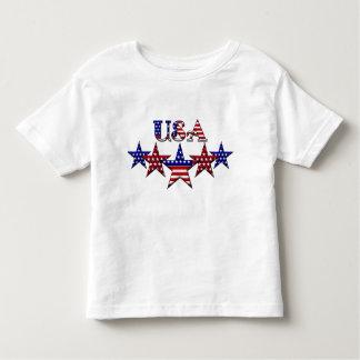 Cuarto de la camiseta del niño de julio