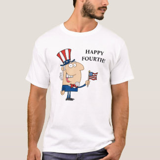 Cuarto feliz de julio camiseta