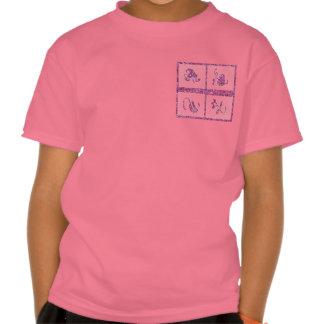 Cuatro joyas en el artista 3 crearon las plataform camiseta