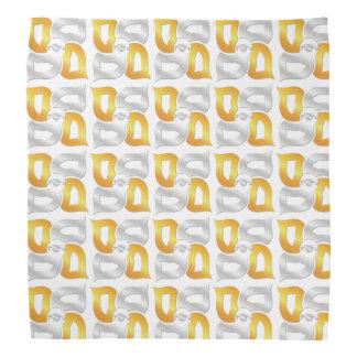 Cuatro pañuelo del blanco de los elementos
