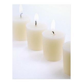 cuatro velas tarjeton